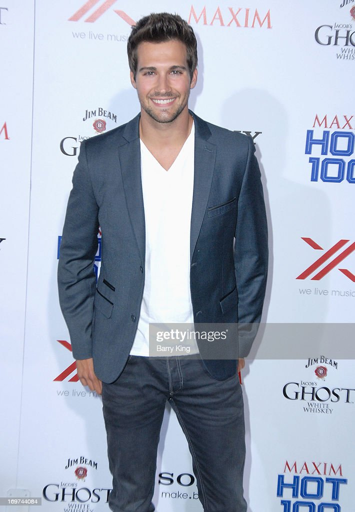 Actor/singer <a gi-track='captionPersonalityLinkClicked' href=/galleries/search?phrase=James+Maslow&family=editorial&specificpeople=6522849 ng-click='$event.stopPropagation()'>James Maslow</a> of Big Time Rush arrives at the Maxim 2013 Hot 100 Party held at Create on May 15, 2013 in Hollywood, California.