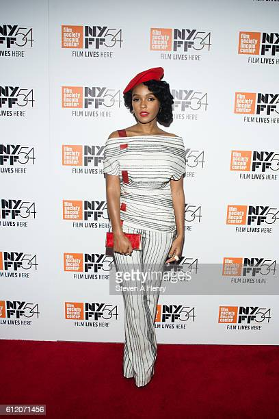 Actor/Singer Janelle Monae attends the 54th New York Film Festival 'Moonlight' premiere at Alice Tully Hall Lincoln Center on October 2 2016 in New...