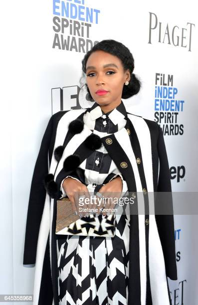 Actor/singer Janelle Monae with Piaget at the 2017 Film Independent Spirit Awards at Santa Monica Pier on February 25 2017 in Santa Monica California