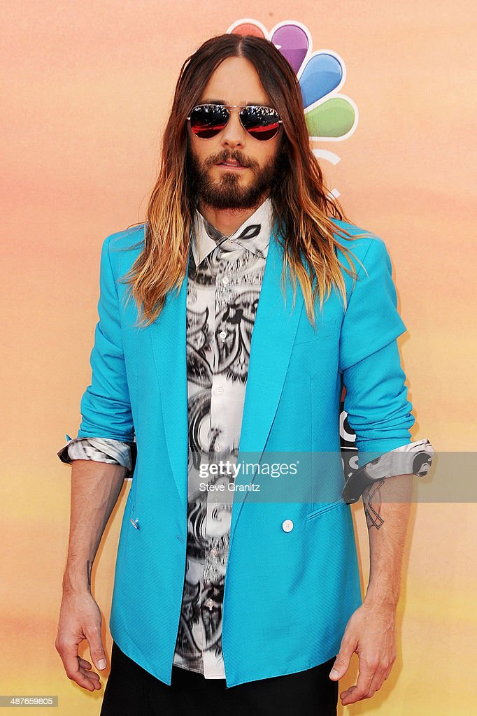 Actor/singer <a gi-track='captionPersonalityLinkClicked' href=/galleries/search?phrase=Jared+Leto&family=editorial&specificpeople=214764 ng-click='$event.stopPropagation()'>Jared Leto</a> attends the 2014 iHeartRadio Music Awards held at The Shrine Auditorium on May 1, 2014 in Los Angeles, California.