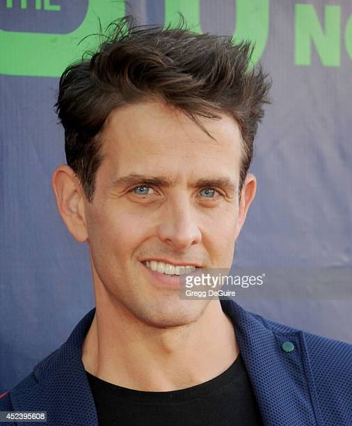 Actor/singer Joey McIntyre arrives at the 2014 Television Critics Association Summer Press Tour CBS CW And Showtime Party at Pacific Design Center on...