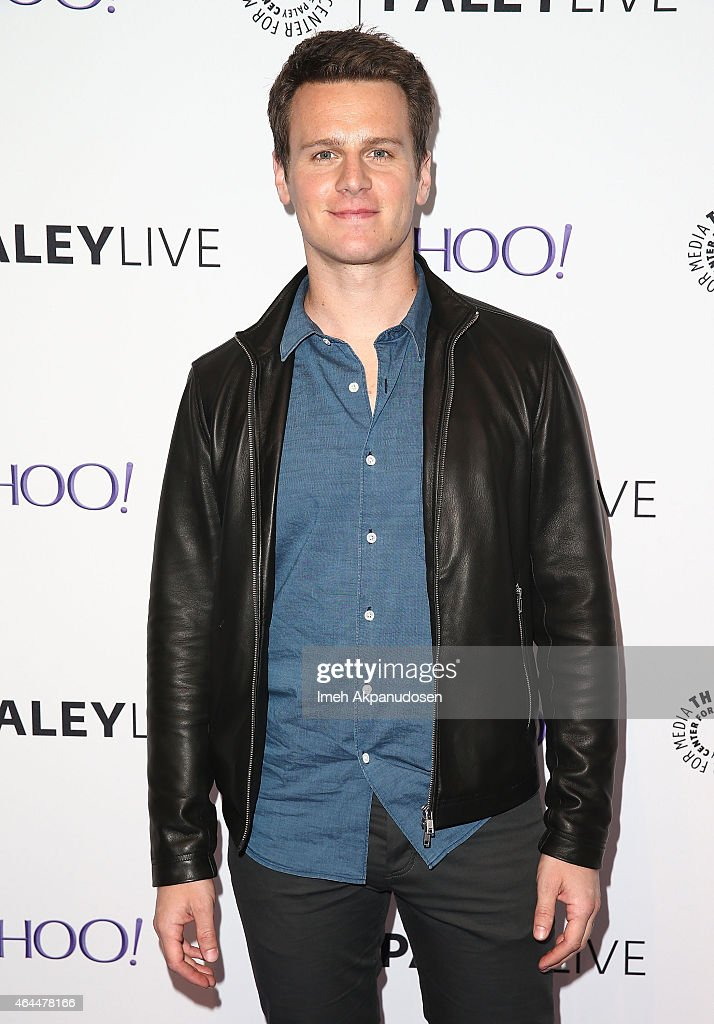 Actor/singer Jonathan Groff attends an evening with HBO's 'Looking' at The Paley Center for Media on February 25 2015 in Beverly Hills California
