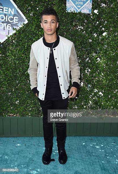 Actor/singer Jordan Fisher attends Teen Choice Awards 2016 at The Forum on July 31 2016 in Inglewood California