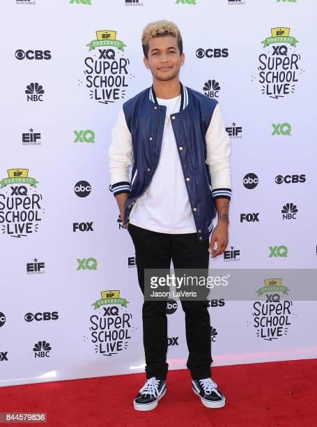 Actor/singer Jordan Fisher attends XQ Super School Live at The Barker Hanger on September 8 2017 in Santa Monica California