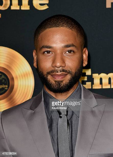 Actor/singer Jussie Smollett arrives at the Television Academy event for Fox Tv's 'Empire' A Performance Under The Stars at The Grove on May 28 2015...