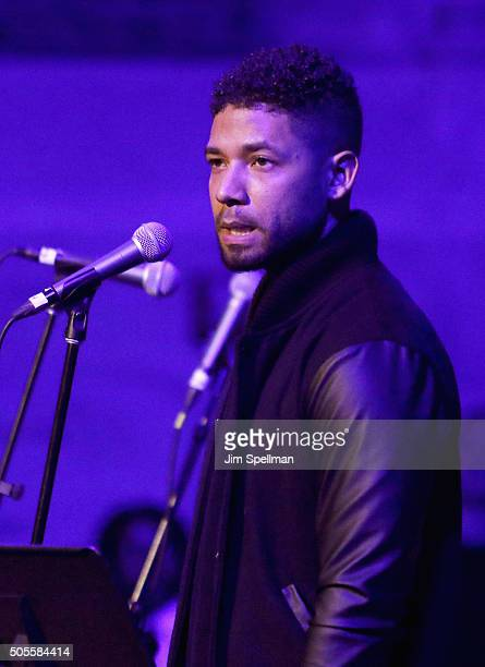 Actor/singer Jussie Smollett attends the 2016 MLK Now at Riverside Church on January 18 2016 in New York City