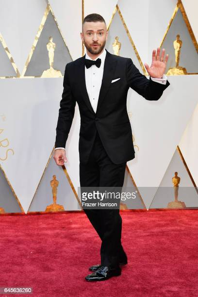 Actor/singer Justin Timberlake attends the 89th Annual Academy Awards at Hollywood Highland Center on February 26 2017 in Hollywood California