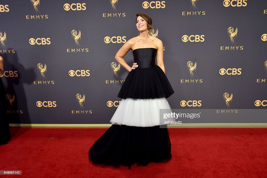 Actor/singer Mandy Moore attends the 69th Annual Primetime Emmy Awards at Microsoft Theater on September 17, 2017 in Los Angeles, California.