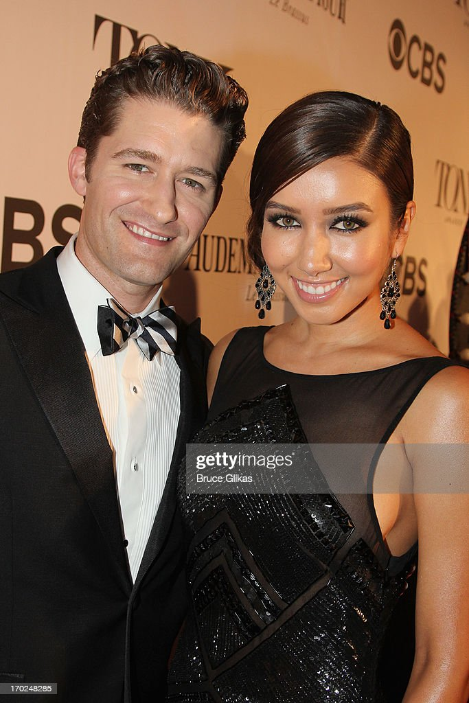 Actor/Singer <a gi-track='captionPersonalityLinkClicked' href=/galleries/search?phrase=Matthew+Morrison&family=editorial&specificpeople=171674 ng-click='$event.stopPropagation()'>Matthew Morrison</a> and Renee Puente attend The 67th Annual Tony Awards at Radio City Music Hall on June 9, 2013 in New York City.