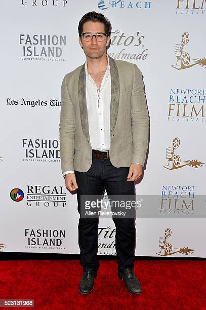 Actor/singer Matthew Morrison attends the 17th annual Newport Beach Film Festival opening night premiere of 'After The Reality' at Lido Live Theater...