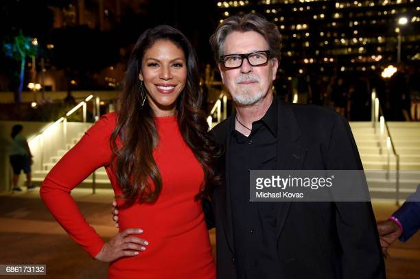 Actor/singer Merle Dandridge and producer/director Robert Egan at the Center Theatre Group 50th Anniversary Celebration at Ahmanson Theatre on May 20...
