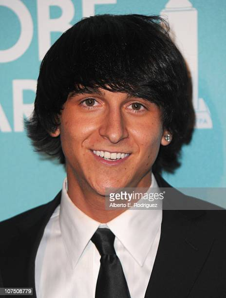 Actor/singer Mitchell Musso arrives at The Hollywood Foreign Press Associationand InStyle's Miss Golden Globe 2011 introduction on December 9 2010 in...