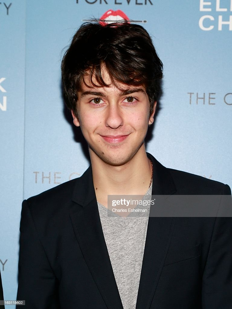 Actor/singer Nat Wolff attends The Cinema Society & Make Up For Ever host a screening of 'Electrick Children' at IFC Center on March 4, 2013 in New York City.
