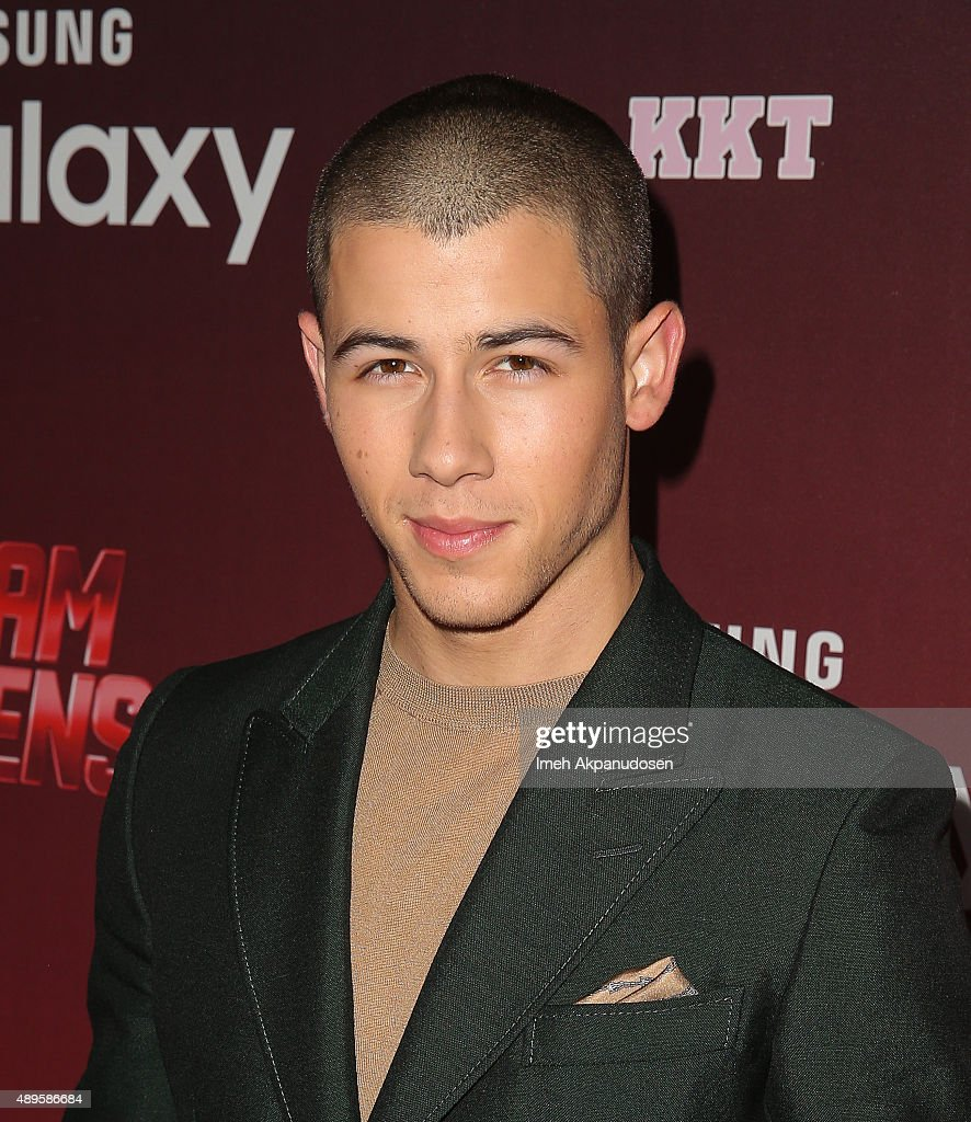 Actor/singer <a gi-track='captionPersonalityLinkClicked' href=/galleries/search?phrase=Nick+Jonas&family=editorial&specificpeople=842713 ng-click='$event.stopPropagation()'>Nick Jonas</a> attends the premiere of FOX TV's 'Scream Queens' at The Wilshire Ebell Theatre on September 21, 2015 in Los Angeles, California.