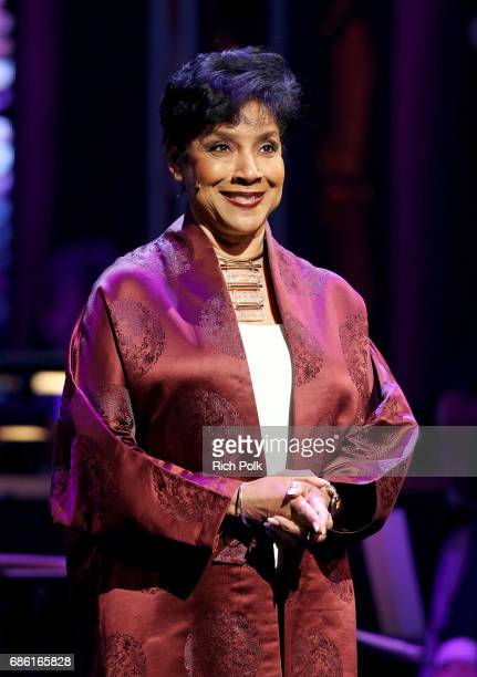 Actor/singer Phylicia Rashad onstage at the Center Theatre Group 50th Anniversary Celebration at Ahmanson Theatre on May 20 2017 in Los Angeles...