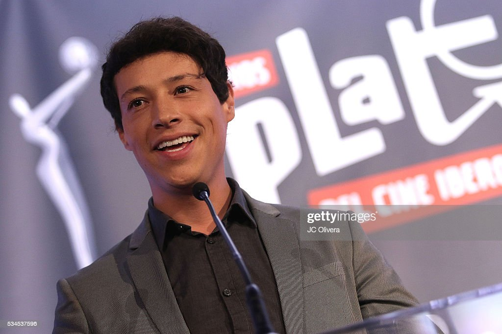 Actor/singer Reynaldo Pacheco attends the nomination announcement for The 3rd Annual Premios Platino of Iberoamerican Cinema at The London on May 26, 2016 in West Hollywood, California.