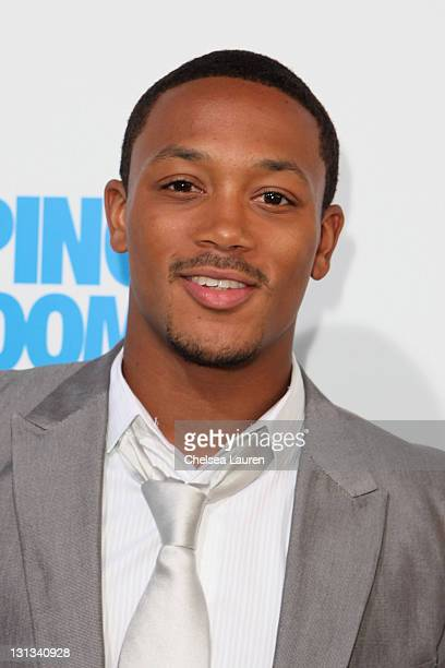 Actor/singer Romeo Miller arrives at the Los Angeles premiere of 'Jumping The Broom' at ArcLight Cinemas Cinerama Dome on May 4 2011 in Hollywood...