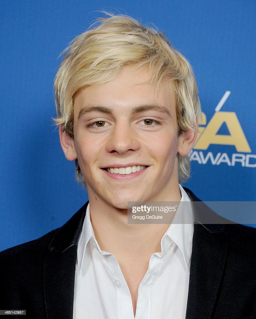 Actor/singer <a gi-track='captionPersonalityLinkClicked' href=/galleries/search?phrase=Ross+Lynch&family=editorial&specificpeople=4814597 ng-click='$event.stopPropagation()'>Ross Lynch</a> arrives at the 66th Annual Directors Guild Of America Awards at the Hyatt Regency Century Plaza on January 25, 2014 in Century City, California.