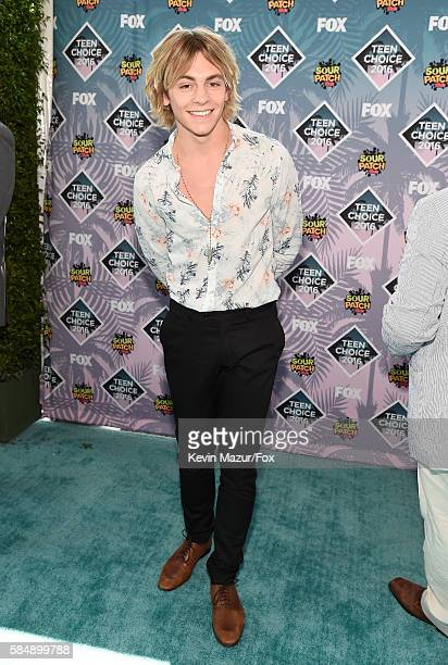 Actor/singer Ross Lynch attends Teen Choice Awards 2016 at The Forum on July 31 2016 in Inglewood California