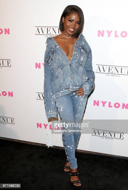 Actor/singer Ryan Destiny attends NYLON's Annual Young Hollywood May Issue Event at Avenue on May 2 2017 in Los Angeles California