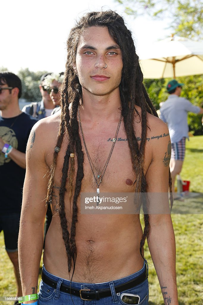 Actor/singer Samuel Larsen attends the FIJI Water At Lacoste L!VE Desert Pool Party on April 14, 2013 in Palm Springs, California.
