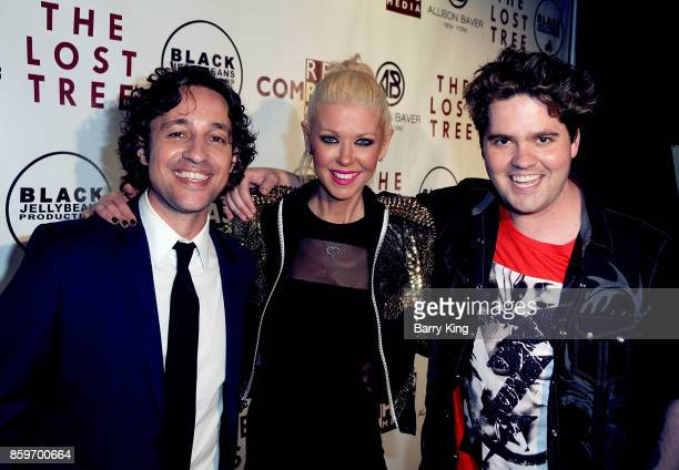 Actor/singer Thomas Ian Nicholas actress Tara Reid and host Kory David attend 'The Lost Tree' screening at TCL Chinese 6 Theatres on October 9 2017...
