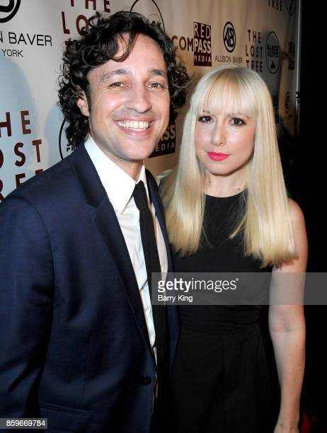 Actor/Singer Thomas Ian Nicholas and wife DJ Colette attend 'The Lost Tree' screening at TCL Chinese 6 Theatres on October 9 2017 in Hollywood...