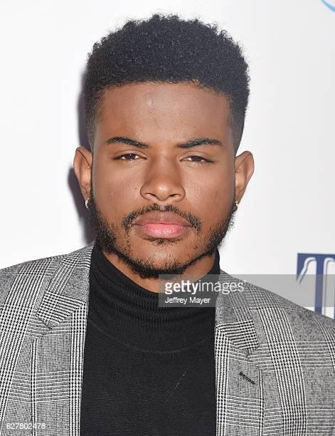 Actorsinger Trevor Jackson attends the TrevorLIVE Los Angeles 2016 Fundraiser at the Beverly Hilton Hotel on December 04 2016 in Beverly Hills...