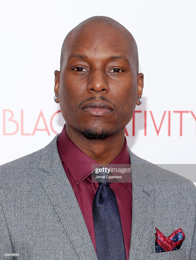 Actor/singer <a gi-track='captionPersonalityLinkClicked' href=/galleries/search?phrase=Tyrese&family=editorial&specificpeople=206177 ng-click='$event.stopPropagation()'>Tyrese</a> Gibson attends the 'Black Nativity' premiere at The Apollo Theater on November 18, 2013 in New York City.