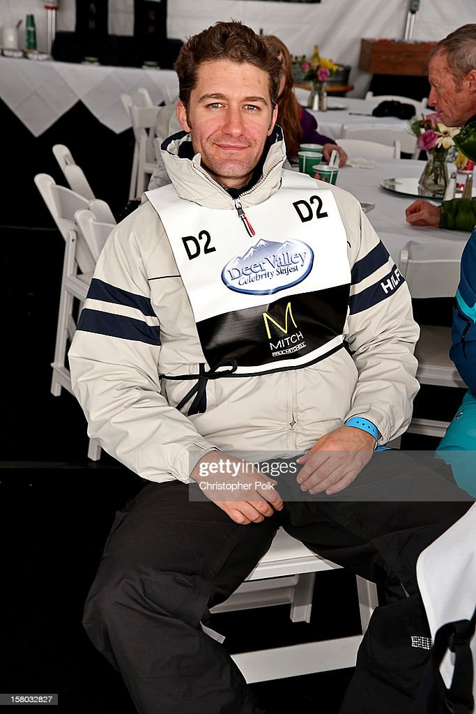 Actor/Singer/Songwriter <a gi-track='captionPersonalityLinkClicked' href=/galleries/search?phrase=Matthew+Morrison&family=editorial&specificpeople=171674 ng-click='$event.stopPropagation()'>Matthew Morrison</a> attend the Deer Valley Celebrity Skifest at Deer Valley Resort on December 9, 2012 in Park City, Utah.