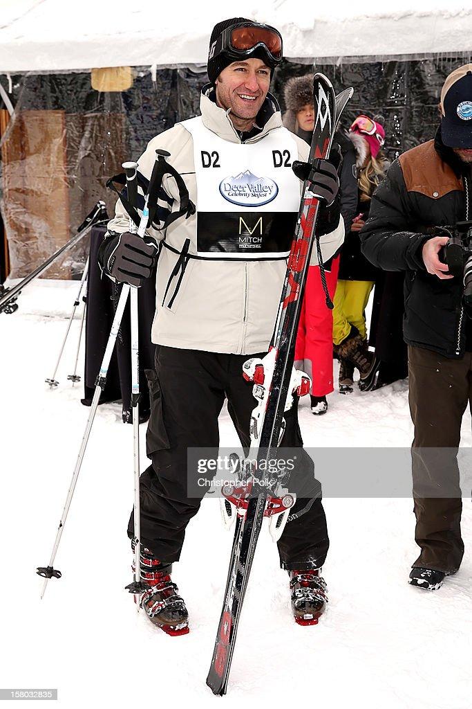 Actor/Singer/Songwriter Matthew Morrison attend the Deer Valley Celebrity Skifest at Deer Valley Resort on December 9, 2012 in Park City, Utah.
