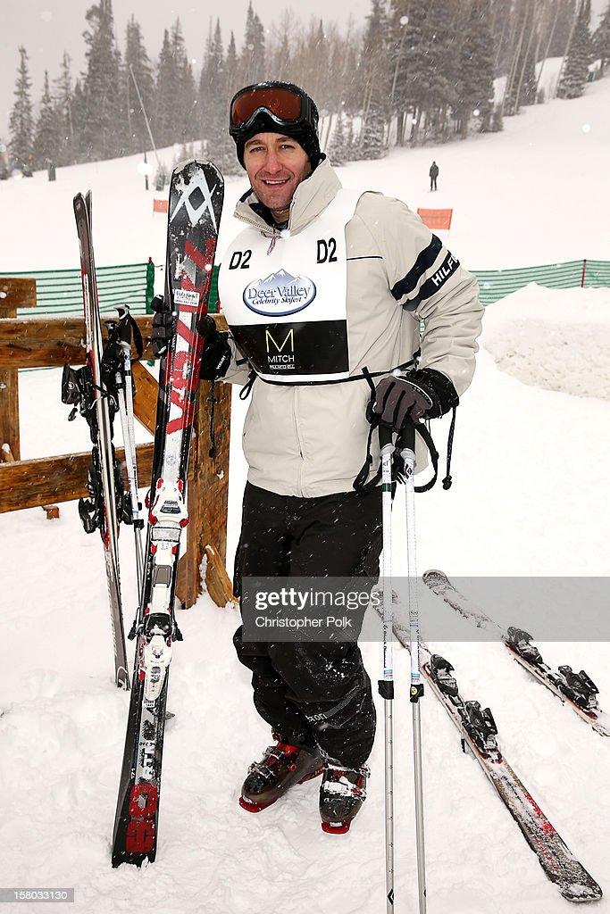 Actor/Singer/Songwriter Matthew Morrison attends the Deer Valley Celebrity Skifest at Deer Valley Resort on December 9, 2012 in Park City, Utah.