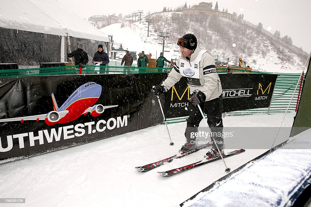 Actor/Singer/Songwriter <a gi-track='captionPersonalityLinkClicked' href=/galleries/search?phrase=Matthew+Morrison&family=editorial&specificpeople=171674 ng-click='$event.stopPropagation()'>Matthew Morrison</a> attends the Deer Valley Celebrity Skifest at Deer Valley Resort on December 9, 2012 in Park City, Utah.
