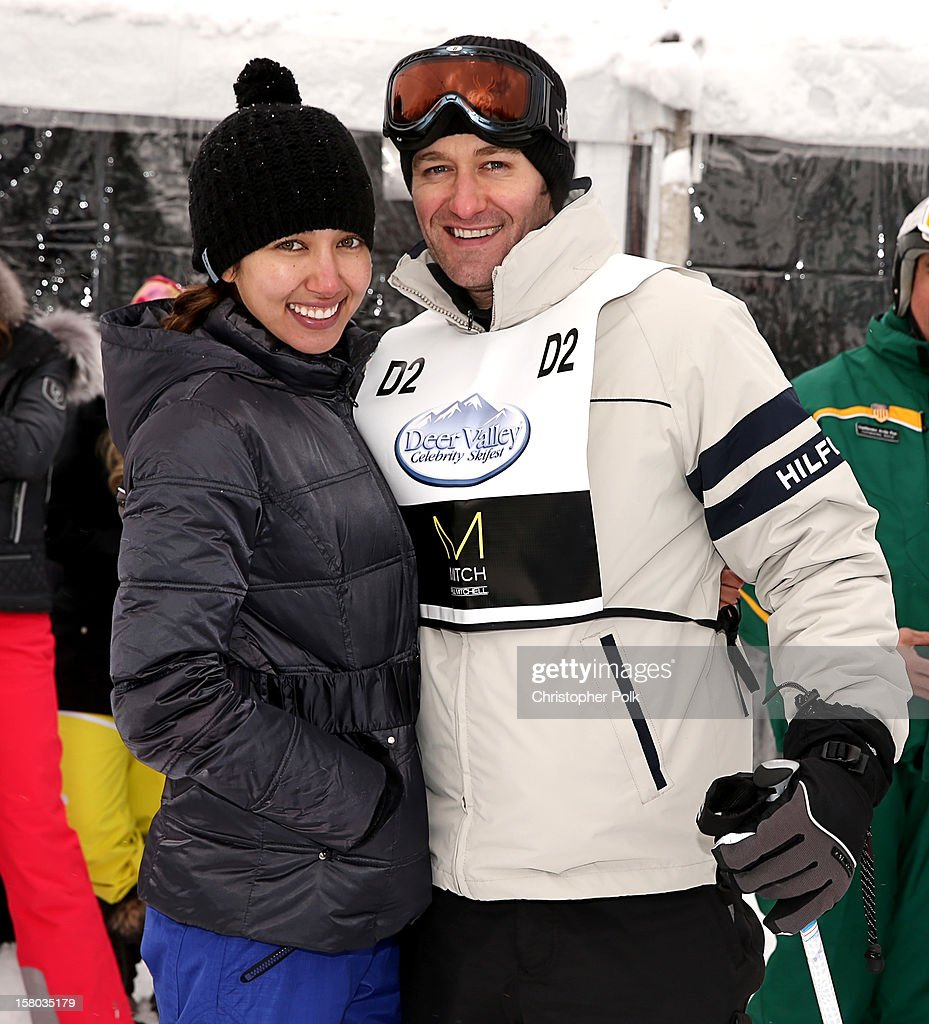 Actor/Singer/Songwriter Matthew Morrison Renee Puente attend the Deer Valley Celebrity Skifest at Deer Valley Resort on December 9, 2012 in Park City, Utah.