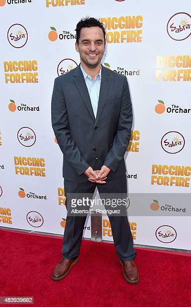 Actor/sowriter Jake Johnson attends the premiere of 'Digging for Fire' at The ArcLight Cinemas on August 13 2015 in Hollywood California