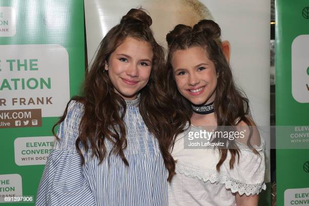 Actors/Singers Chiara D'Ambrosio and Bianca D'Ambrosio attend the DoctorFrankcom Memorial Day Yacht Cruise on May 29 2017 in Marina del Rey California
