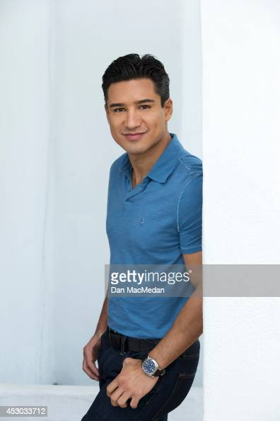 Actor/TV host Mario Lopez is photographed for USA Today's Back To School Magazine on July 15 2014 in Glendale California