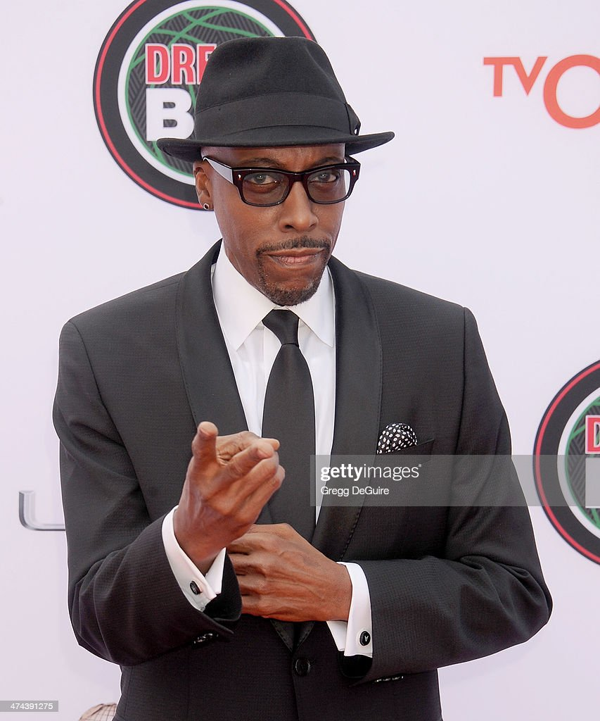Actor/TV personality <a gi-track='captionPersonalityLinkClicked' href=/galleries/search?phrase=Arsenio+Hall&family=editorial&specificpeople=211441 ng-click='$event.stopPropagation()'>Arsenio Hall</a> arrives at the 45th NAACP Image Awards at Pasadena Civic Auditorium on February 22, 2014 in Pasadena, California.