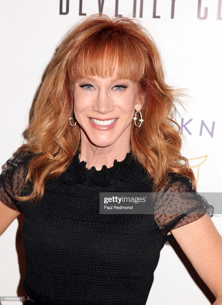 Actor/TV personality Kathy Griffin arrives at 'Tie The Knot' Store Grand Opening with founder Jesse Tyler Ferguson at The Beverly Center on December 5, 2013 in Los Angeles, California.