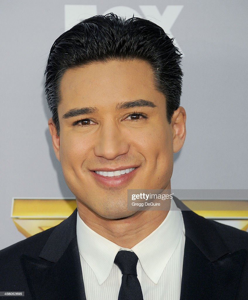 Actor/TV personality <a gi-track='captionPersonalityLinkClicked' href=/galleries/search?phrase=Mario+Lopez&family=editorial&specificpeople=235992 ng-click='$event.stopPropagation()'>Mario Lopez</a> attends FOX's 'The X Factor' season finale at CBS Television City on December 19, 2013 in Los Angeles, California.