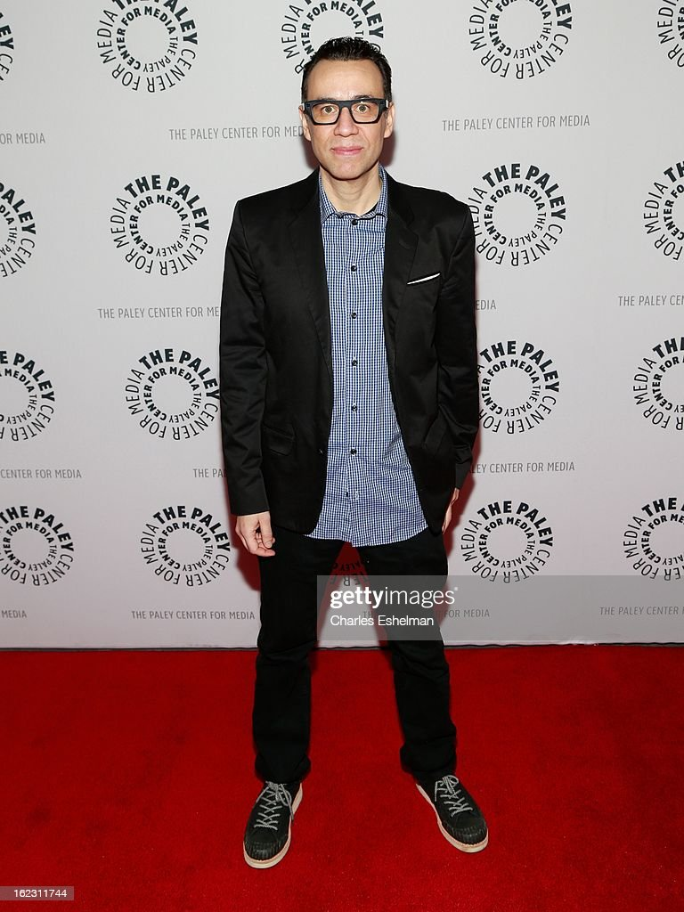 Actor/writer <a gi-track='captionPersonalityLinkClicked' href=/galleries/search?phrase=Fred+Armisen&family=editorial&specificpeople=221426 ng-click='$event.stopPropagation()'>Fred Armisen</a> attends Dream Of... An Evening with <a gi-track='captionPersonalityLinkClicked' href=/galleries/search?phrase=Fred+Armisen&family=editorial&specificpeople=221426 ng-click='$event.stopPropagation()'>Fred Armisen</a> at The Paley Center for Media on February 21, 2013 in New York City.