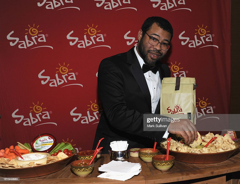 Actorwriter Jordan Peele in the 2013 Writers Guild Awards Backstage Creations Celebrity Retreat on February 17, 2013 in Los Angeles, California.