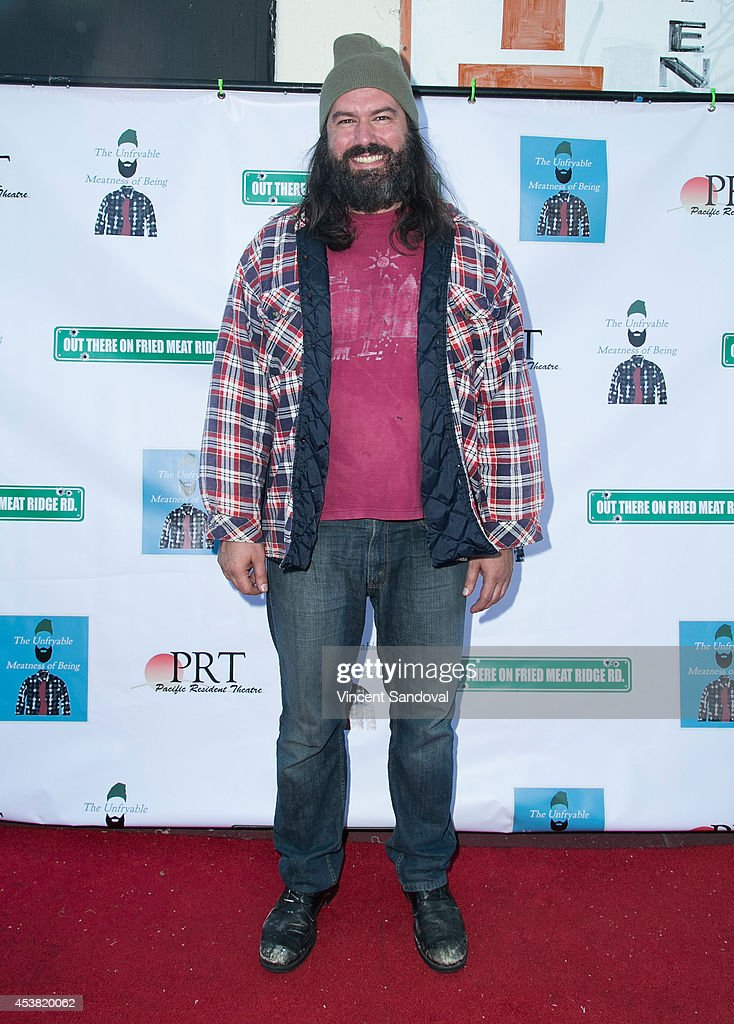 Actor/Writer Keith Stevenson attends the premiere of 'Fried Meat 3: The Unfryable Meatness of Being' at Pacific Resident Theatre on August 18, 2014 in Venice, California.