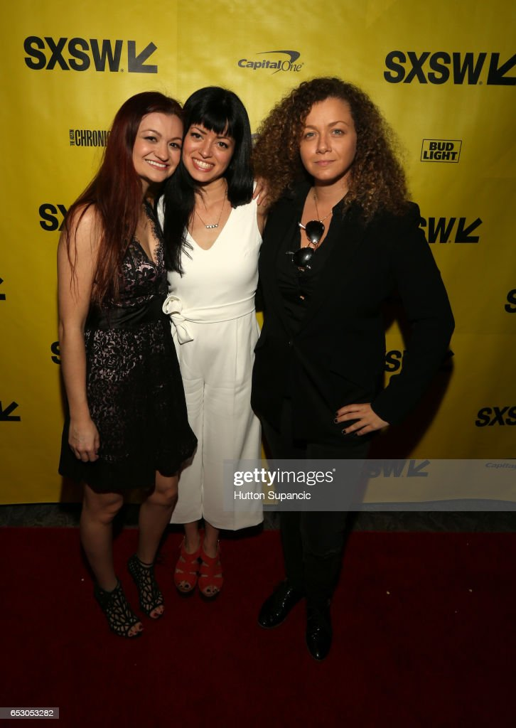 Actor/writer Leah McKendrick, director Natalia Leite and producer Dahlia Heyman attend the premiere of 'M.F.A.' during 2017 SXSW Conference and Festivals at Stateside Theater on March 13, 2017 in Austin, Texas.