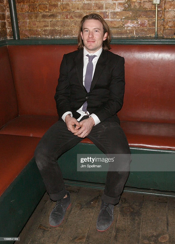 Actor/writer Michael Rabe attends the after party for the opening night of 'The Future Is Not What It Was' at Toad Hall on January 21, 2013 in New York City.