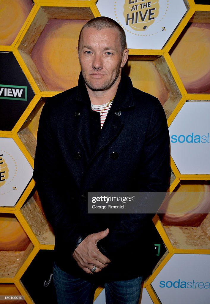 Actor/Writer/Director <a gi-track='captionPersonalityLinkClicked' href=/galleries/search?phrase=Joel+Edgerton&family=editorial&specificpeople=211291 ng-click='$event.stopPropagation()'>Joel Edgerton</a> attends the SodaStream presents The Worldview Party at Live at the Hive during the 2013 Toronto International Film Festival on September 8, 2013 in Toronto, Canada.