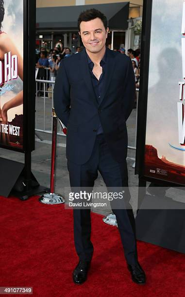 Actor/writer/director Seth MacFarlane attends the premiere of Universal Pictures and MRC's 'A Million Ways to Die in the West' at the Regency Village...