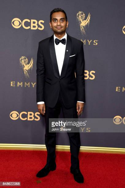 Actorwriterproducer Aziz Ansari attends the 69th Annual Primetime Emmy Awards at Microsoft Theater on September 17 2017 in Los Angeles California