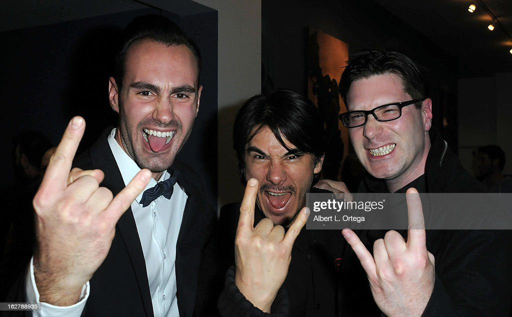 Actor/writer/producer Ivan Djurovic, actor James Duval and director Dave Parker attend the Screening and Q&A for 'ColdWater' at The Los Angeles Film School on February 26, 2013 in Hollywood, California.