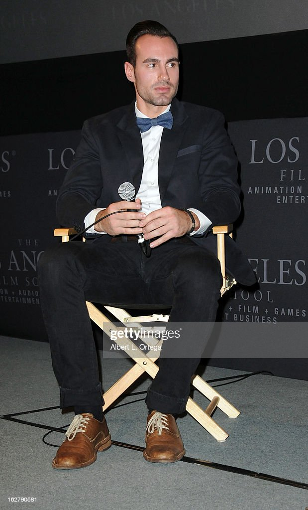 Actor/writer/producer Ivan Djurovic attends the Screening and Q&A for 'ColdWater' at The Los Angeles Film School on February 26, 2013 in Hollywood, California.